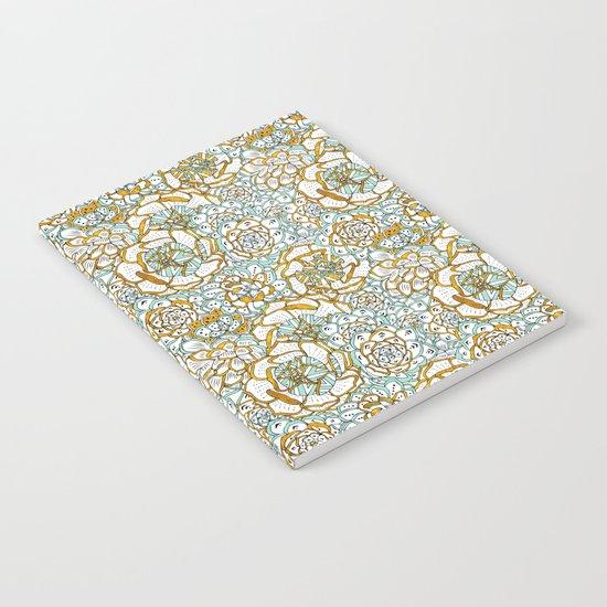 Succulents Garden Notebook