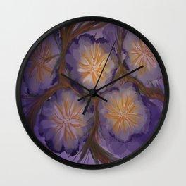 Saddest Flower Wall Clock