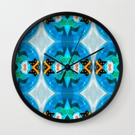 Little Blue Kiddie Pool Wall Clock