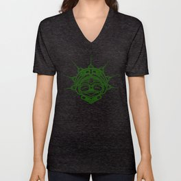 Grass Frog Ink Unisex V-Neck