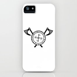 Norse Axe - Ginfaxi iPhone Case
