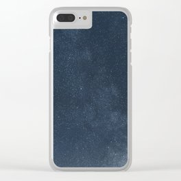 Shiny Stars in the night sky, starry night sky, Stars background Clear iPhone Case