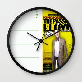 King Kaufman: The Passion of Lloyd (2008) - Movie Poster Postcard Wall Clock