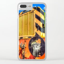 Ruston Diesel Engine Clear iPhone Case