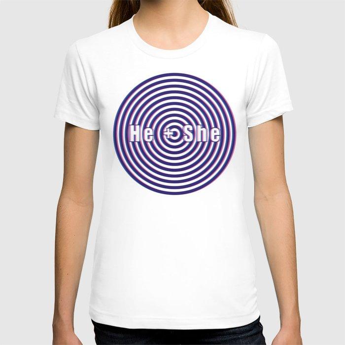 He + She 3D T-shirt