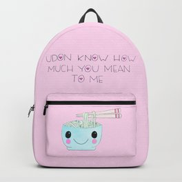 udon know Backpack