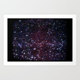 Tube Space Art Print