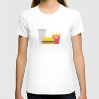 junk food T-shirts featuring Junk Food by Paul Goerne