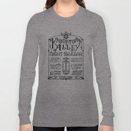 Knockturn Alley Night Bazaar Long Sleeve T-shirt