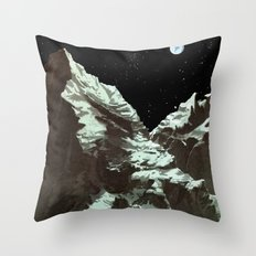 Space II Throw Pillow