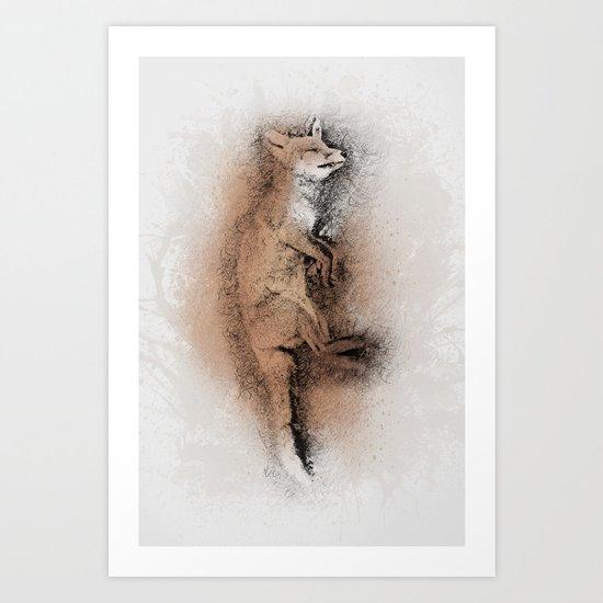 The Sleeping Beauty Art Print