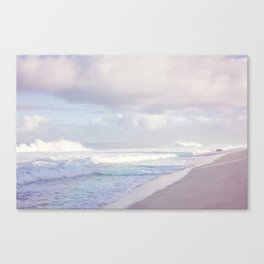 North Shore Surf Canvas Print