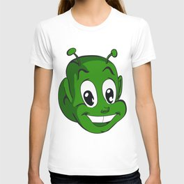 Smiling extraterrestrial T-shirt