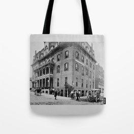 Downtown Ticonderoga Panorama circa 1913 Tote Bag