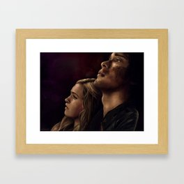 "Bellarke painting - ""I need you"" Framed Art Print"