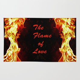 The Flame of Love Rug