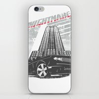 nightmare iPhone & iPod Skins featuring Nightmare by Tshirt-Factory