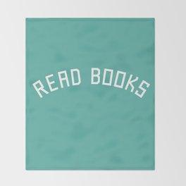 Read Books Throw Blanket