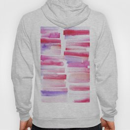 20 | 181101 Watercolour Palette Abstract Art | Lines | Stripes | Hoody