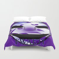 shadow Duvet Covers featuring Shadow  by FWAETI