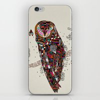 kris tate iPhone & iPod Skins featuring HATKEE Collaboration by Kyle Naylor and Kris Tate by Kyle Naylor
