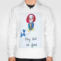 pennywise Hoodies featuring Pessimistic Pennywise by Ashley Petersen
