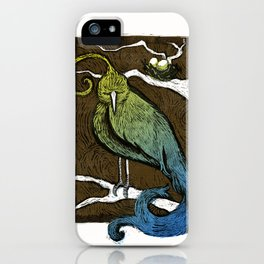 Printed Bird iPhone Case