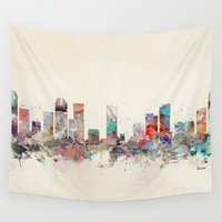 denver Wall Tapestries featuring denver colorado  by bri.buckley