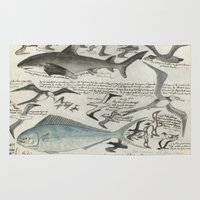 notebook Area & Throw Rugs featuring Sealife Notebook by Common Design