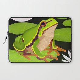 Lilypads Bullfrog Laptop Sleeve
