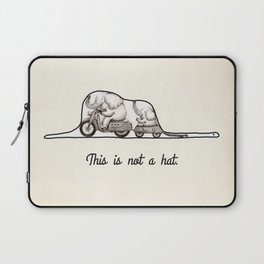 This is not a hat Laptop Sleeve