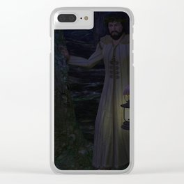 Light of the World Clear iPhone Case