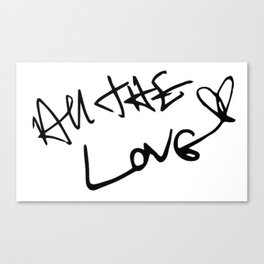 Harry Styles - All the Love Canvas Print