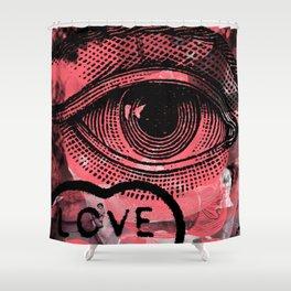 Loving Eye Shower Curtain