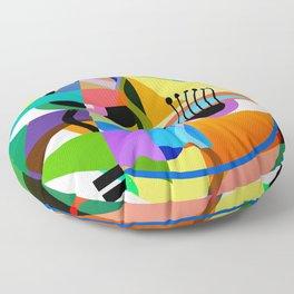 Picasso's Child Floor Pillow