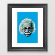 Colorful Einstein Framed Art Print