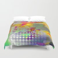 holiday Duvet Covers featuring holiday by David Mark Lane