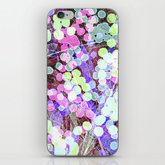 Dots & Leaves. iPhone & iPod Skin