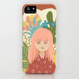 Bloom With Grace iPhone Case