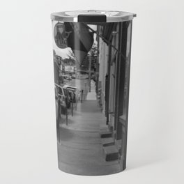NOT MUCH GOING ON IN BLACK AND WHITE Travel Mug
