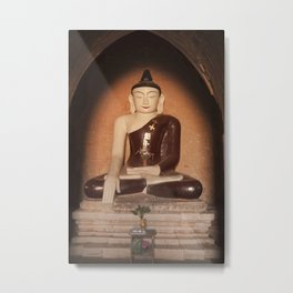 Buddha in Bagan Metal Print