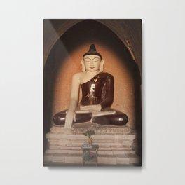 Buddha in Bagan Metal Print