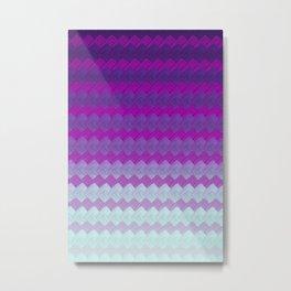 Testing Ultraviolet Metal Print