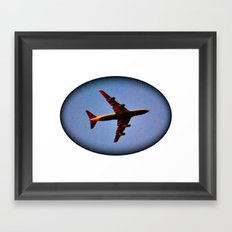 It's Actually a Plane! Framed Art Print
