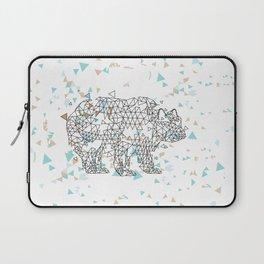 Geometric Bear Laptop Sleeve