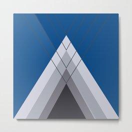 Iglu Lapis Blue Metal Print