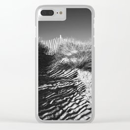 Fencing On The Beach Clear iPhone Case