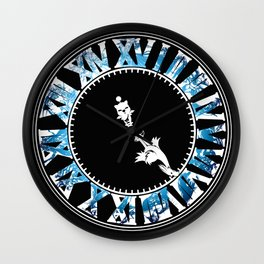 Final Hours (blue) Wall Clock