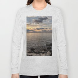 Sunset over the Ocean 7-21-18 Long Sleeve T-shirt