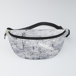 Winter is here - Snowy Birches Winter Scene #decor #society6 #buyart Fanny Pack